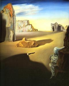 Shades of Night Descending- Salvador Dali